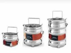 Stainless Steel Belly Patti Lunch Box/Tiffin Box