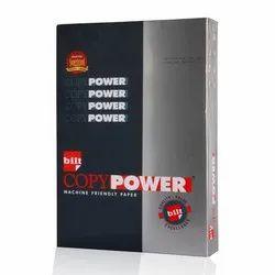 Bilt White Copy Power Copier Paper, GSM: Less Than 80, Paper Size: A4