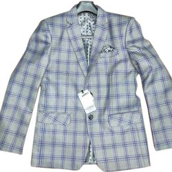 Comet Regular Fit Mens Designer Cotton Blazers, Size: M to XXL