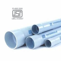 Hard Tube White Plastic Agricultural Pipe