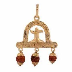 Mahadev Kavach Rudraksha Pendant