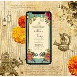 Wedding E Card Designing Services