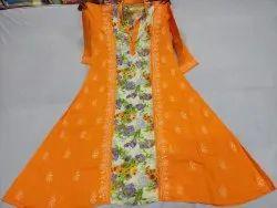 Long Umbrella Pakistani Length Gown, Size: Extra Large