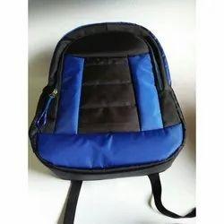 Blue-Black College Bag