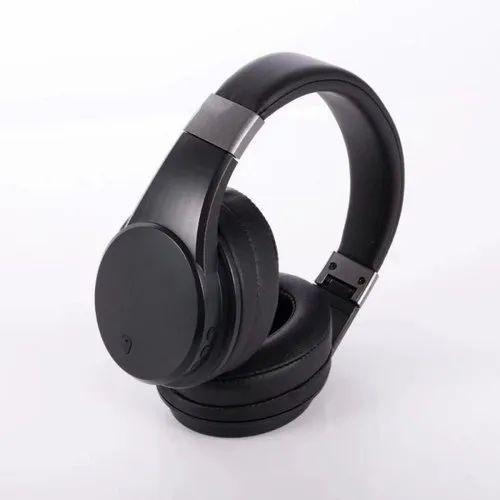 e06720936ce Black On Ear Active Noise Cancelling Bluetooth Wireless Headphone ...