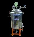 100 Liter Pully Fermenter With Steam Generator, Size: 24 X 36 Inch
