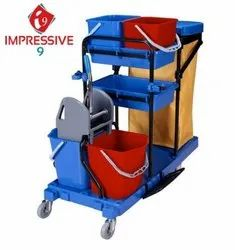 Impressive 9 Multifunctional Janitorial Trolley