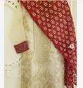 Chiffon Party Wear Ladies Embroidered Unstitched Suit