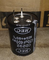 Electrolytic Capacitor 470UF 400V