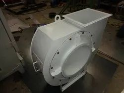 Clamp Duct Mounted Fan High Pressure Fans, For Industrial