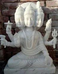 Marble Duttatreya Statue