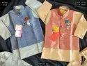 Wedding Wear Boys Khadi Silk Jacket Set, Size: Xs - 14, Age: 0-14