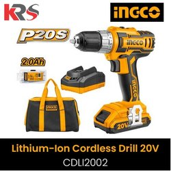 Lithium-Ion Cordless Drill Machine