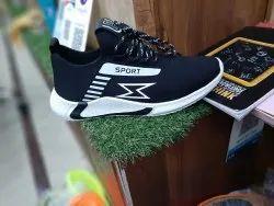 SP mens black sneaker