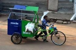 Garbage Cycle Rickshaws