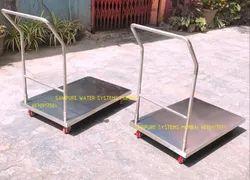 Stainless Steel Wheel Trolley