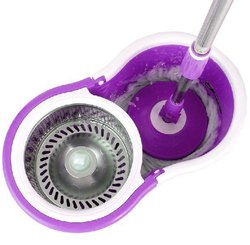 Magic Spin Mop Stainless Steel Rotating Spin 360 Degrees