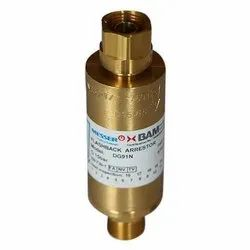 Messer Flash Back Arrestor