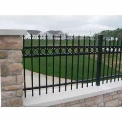 Black Stainless Steel Compound Ornamental Railing