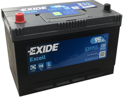 EB955 Exide Excell Car Battery 250SE