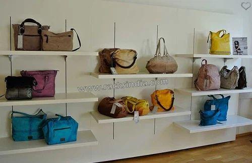 1eb157bb27f Racks For Handbags - Racks For Handbag Store Manufacturer from Mumbai