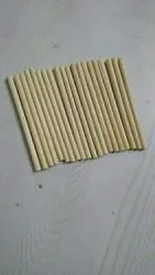 Round Sandal Wooden Stick, Size: 5 mm, 6 mm, 8, 6mm