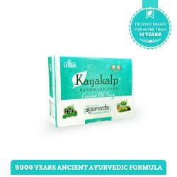 Kayakalp Premium Coconut Oil Soap, Pack Size: 125 Gram