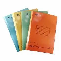 Plastic Spring Clip Printed File Folder