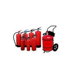 Mild Steel A B C Dry Powder Type Fire Extinguishers, for Office, Capacity: 4Kg