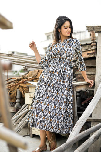 fccc9b7c918b One Piece Dress - Maxi Dress Boho Hippie Dress Manufacturer from Jaipur