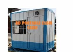 Rectangle GI Security Cabin