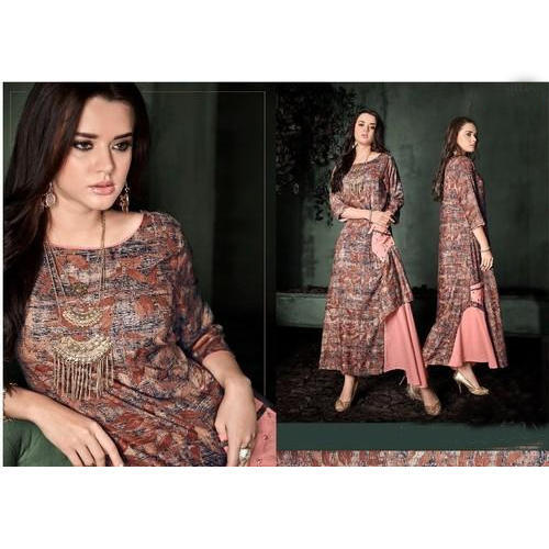 A Line Party Wear Kurti