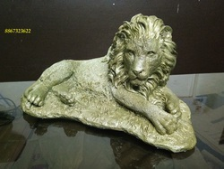 Brand New Lion Marble Powder Artifacts. (Moss Green)