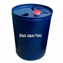 Black Japan Paint, Packaging Type: Can