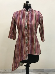 Stripes Fancy Cut Top