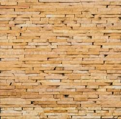 Teak Strip Wall Cladding