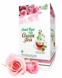 Sweet Rose Tulsi Green Tea