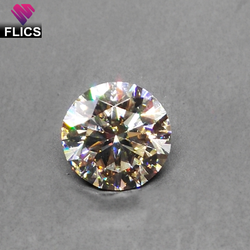 Loose Polished Moissanite Diamonds