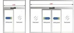 2400 Glass Auto Sliding Door, For Commercial