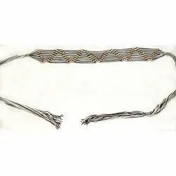 Viscose Handmade Belt with Wood Beads