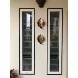 Rudra Tech UPVC Casement Windows, Glass Thickness: 6 Mm Reflective Toughen Glass