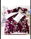 Cotton Home Floral Printed Double Bedsheet
