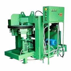 Automatic Mild Steel Rotary Brick Making Machine, Voltage: 380 V