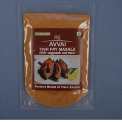 As Fish Fry Masala, 100g, Packaging: Packet