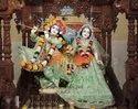 Lord Radha Krishna iskcon Marble Statue