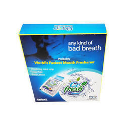Go Fresh Oral Dissolving Strip, Package Size: 5g, Tablet