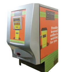 Caffe Express Automatic Three Option Vending Machine