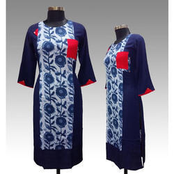 Blue Ladies Kurti