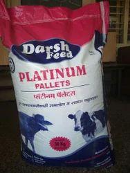 Darsh Feed platinum pellets, Packaging Type: PP Bags