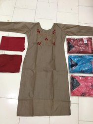 Readymade Cotton Silk Kurti